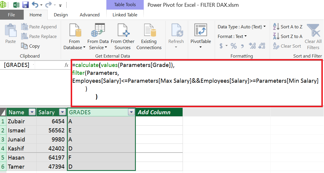 FILTER CONNECTS UNRELATED TABLES – Power BI & Excel are
